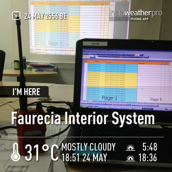 Photo Taken At Faurecia Interior System By Richard P. On 5/24/2013