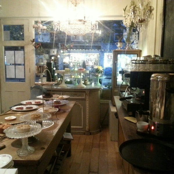 Photos at le chandelier tea room in east dulwich photo taken at le chandelier by ece g on 11242015 aloadofball Gallery