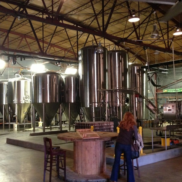 Photo taken at Good People Brewing Company by Brett S. on 12/22/2012