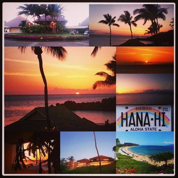 Photo taken at Sheraton Maui Resort & Spa by Corey M. on 4/27/2013