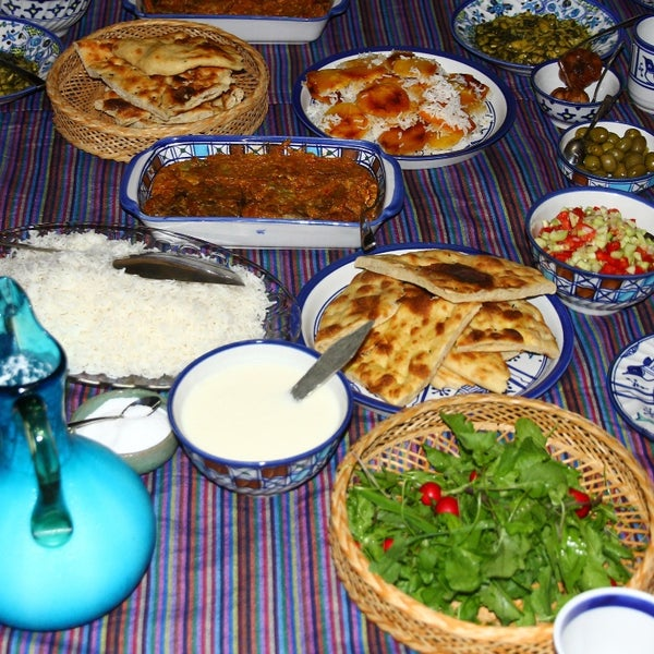 Atraditional way of life, with local foods.