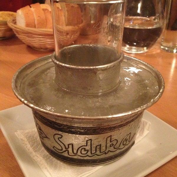 Photo taken at Sıdıka Meze Restoranı by Mehmet O. on 1/23/2013