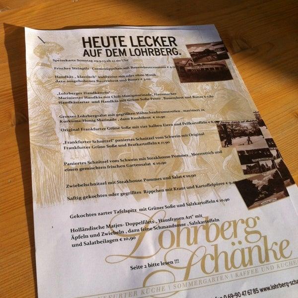 Fotos bei Lohrberg-Schänke - Seckbach - 11 Tipps