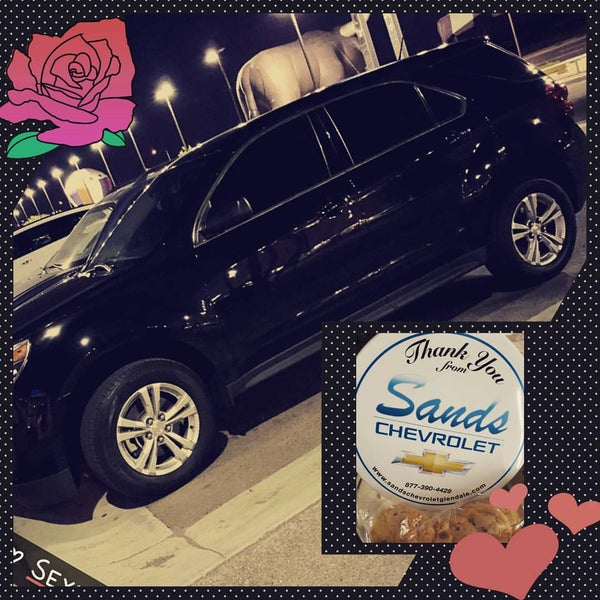 Photo Taken At Sands Chevrolet   Glendale By Kimberly F. On 9/7/
