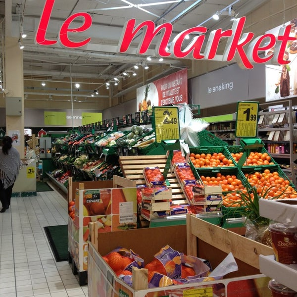 carrefour market salon morgan supermarket