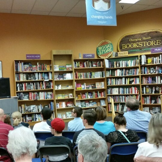 Photo taken at Changing Hands Bookstore by Stephan A. on 4/22/2014
