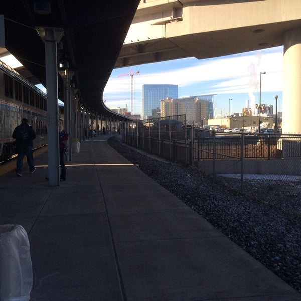 Photo taken at Denver Amtrak (DEN) by Christopher T. on 1/2/2014