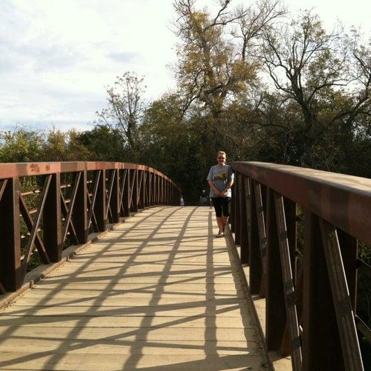 Photo taken at Lady Bird Lake Trail by Ward P. on 11/21/2012