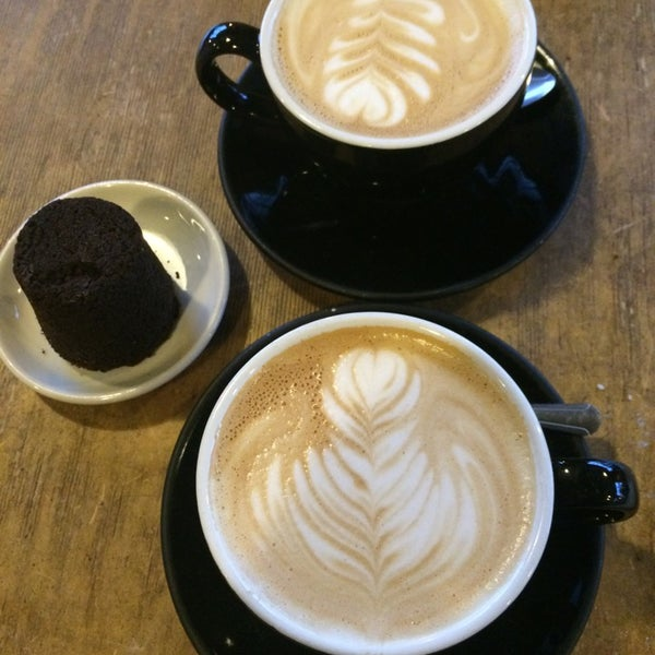 Photo taken at Crema Bakery and Cafe by Jamie D. on 11/21/2014