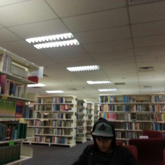 Photo taken at National Library (Perpustakaan Negara) by John T. on 1/3/2013