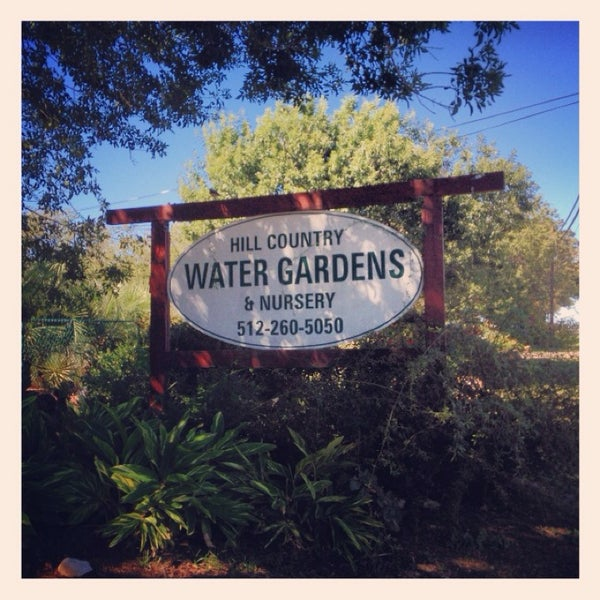 Photo Taken At Hill Country Water Gardens By Joe D. On 10/23/