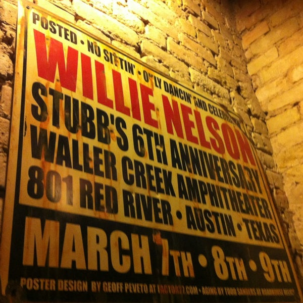 Photo taken at Stubb's Bar-B-Q by Gary B. on 3/14/2013