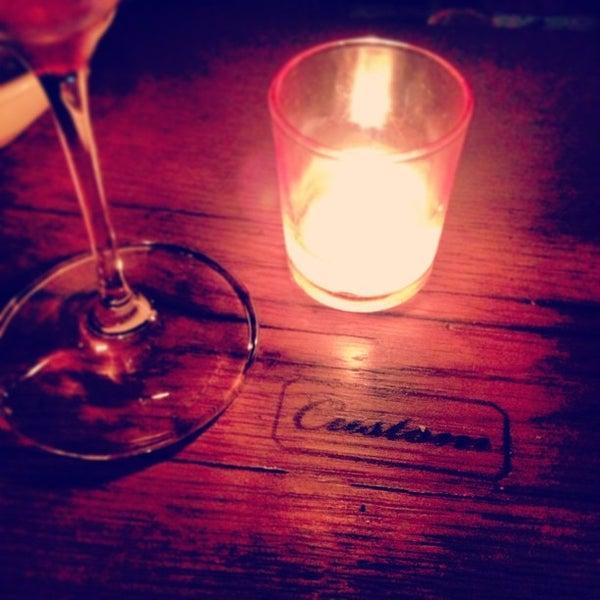 Photo taken at Custom Wine Bar by Rebecca N. on 5/29/2013