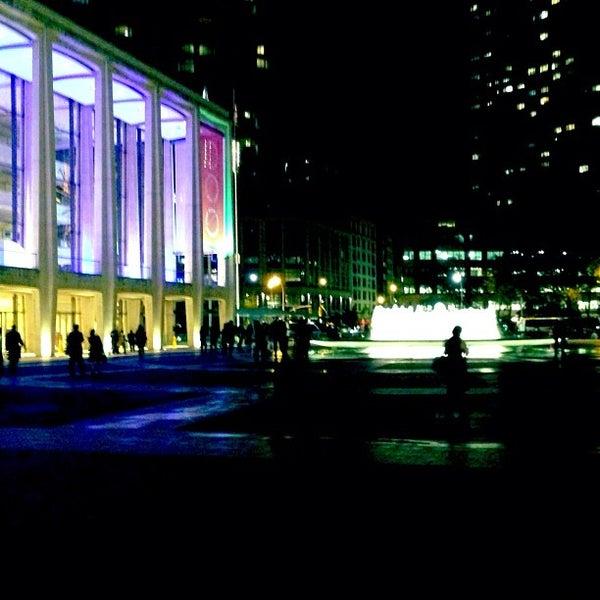 10/16/2012にRoberto B.がLincoln Center for the Performing Artsで撮った写真