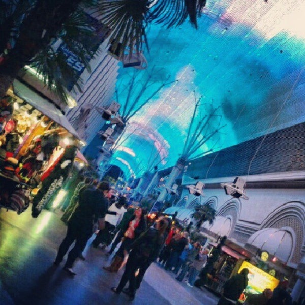 Photo taken at Fremont Street Experience by Lorrie S. on 1/7/2013