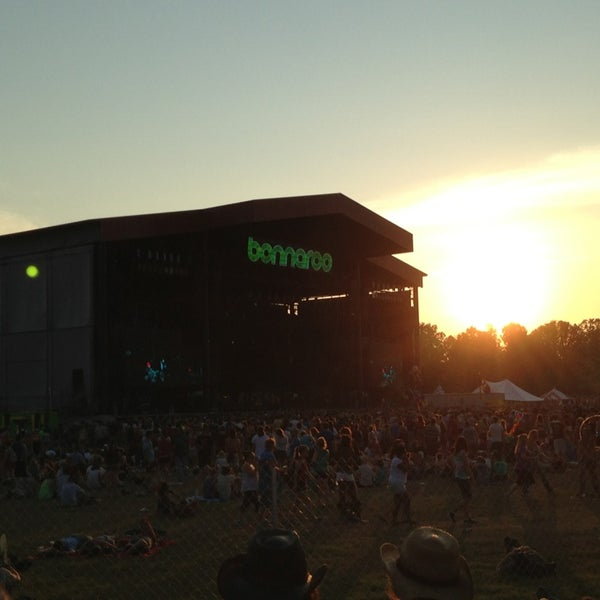 Photo taken at What Stage at Bonnaroo Music & Arts Festival by Steffi S. on 6/16/2013