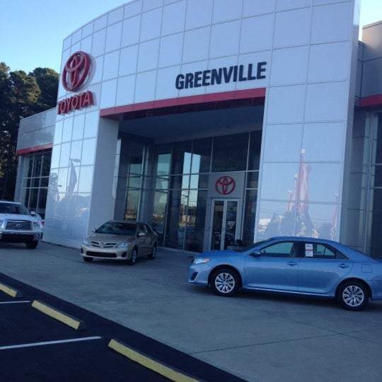Photo Taken At Greenville Toyota By Brooke B. On 10/11/2012
