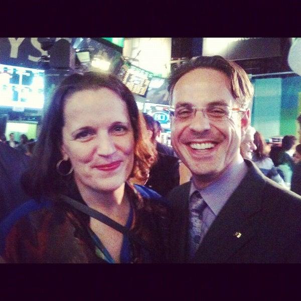 Photo taken at NYSE Euronext by Doron W. on 10/26/2012