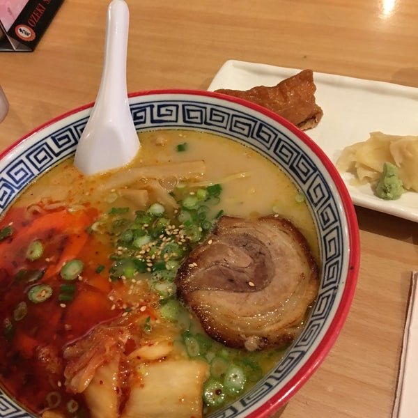 Photo taken at Noodle Cafe Zen by Michelle H. on 4/25/2017