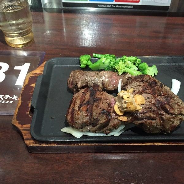 Photo prise au Ikinari Steak par Sho le9/14/2017