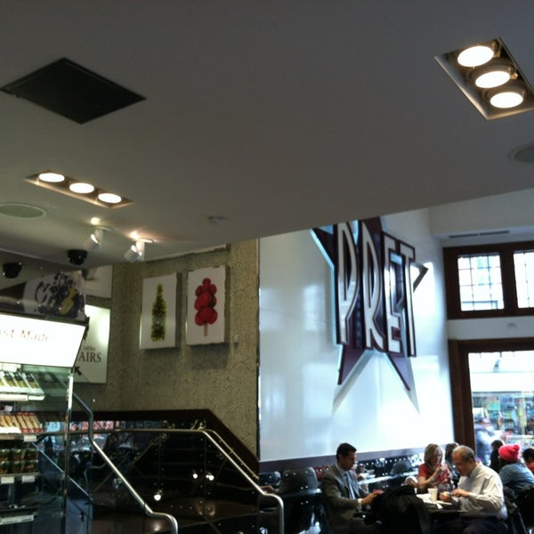 Photo taken at Pret A Manger by Samantha F. on 1/30/2013