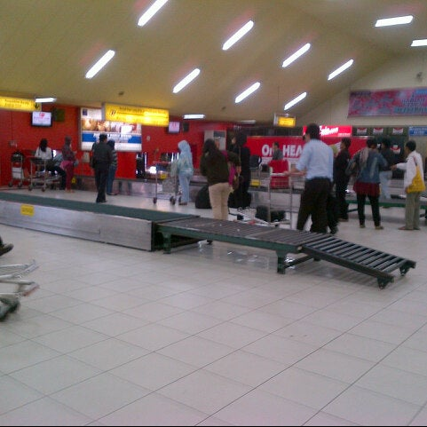 Photo taken at Polonia International Airport (MES) by Gatot S. on 4/8/2013