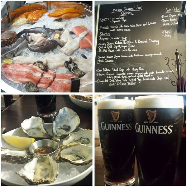 Photo taken at Mourne Seafood Bar by Dayes W. on 4/1/2016
