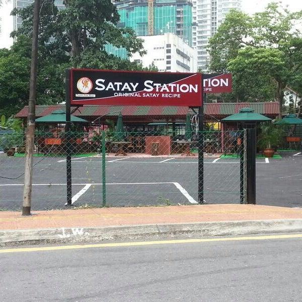 Foto tomada en Satay Station Original satay Recipe por Harryzan H. el 7/25/2013