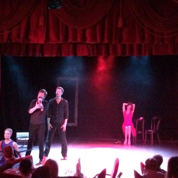 Снимок сделан в Театр-кабаре на Коломенской/ The Private Theatre and Cabaret пользователем наталья е. 12/11/2016