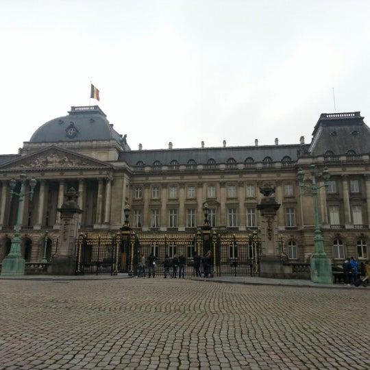 Photo taken at Paleizenplein / Place des Palais by Tommy V. on 10/21/2012