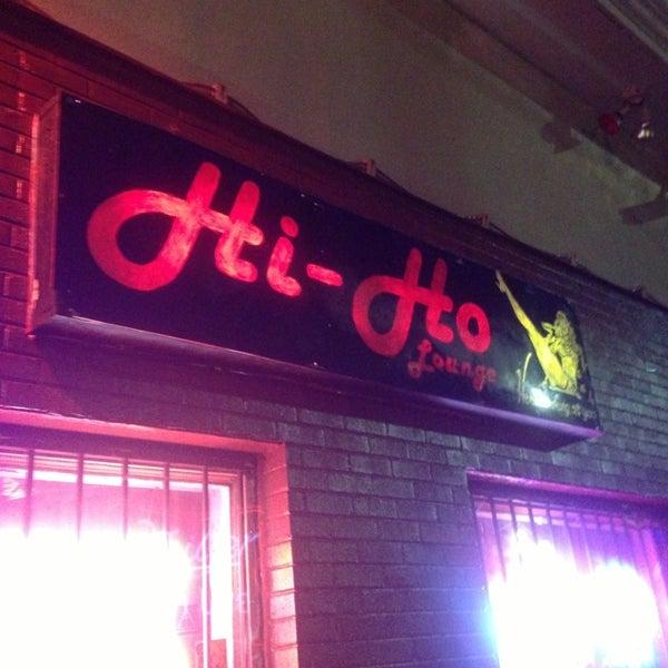 Photo taken at Hi-Ho Lounge by Go Dj B. on 8/24/2013