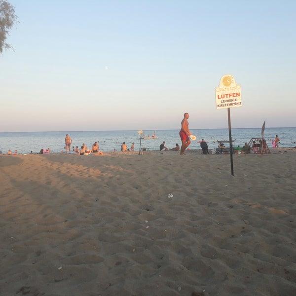 8/23/2018 tarihinde Harun E.ziyaretçi tarafından Ünlüselek Beach'de çekilen fotoğraf