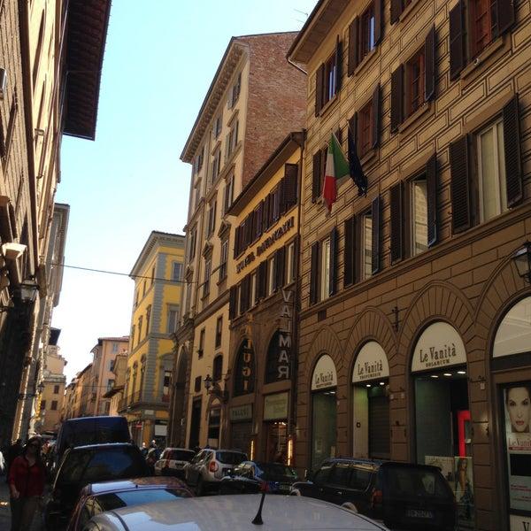 Via porta rossa road in centro - Via porta rossa firenze ...