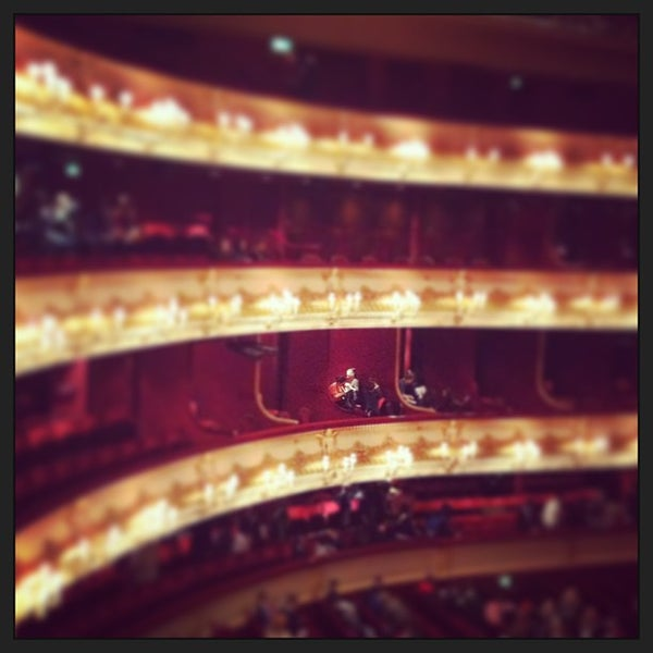 Photo taken at Royal Opera House by Amanda H. on 3/7/2013