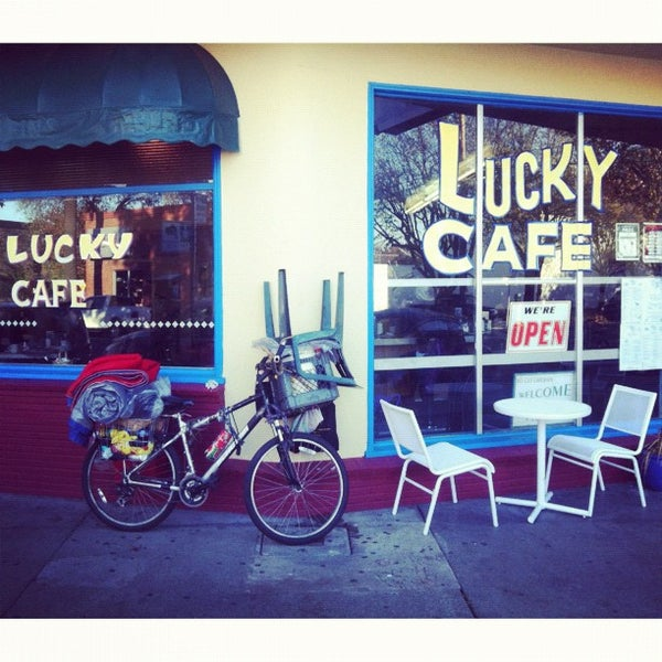 Photo taken at Lucky Cafe by Vince W. on 12/9/2012