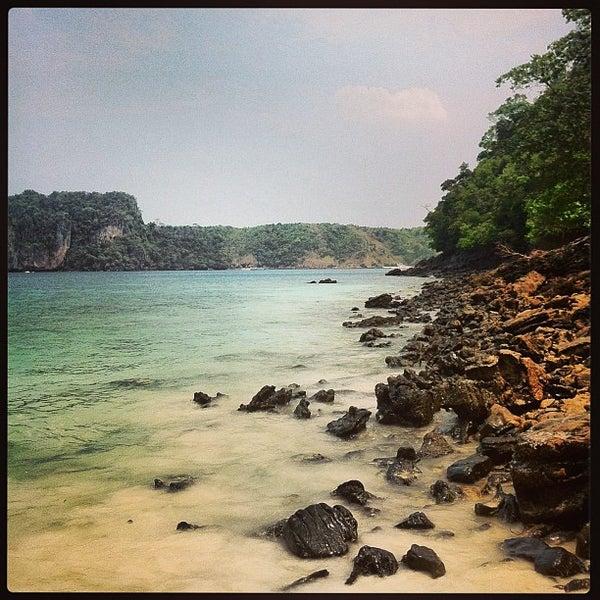 Photo taken at Phi Phi Island by Dmitry G. on 3/8/2013