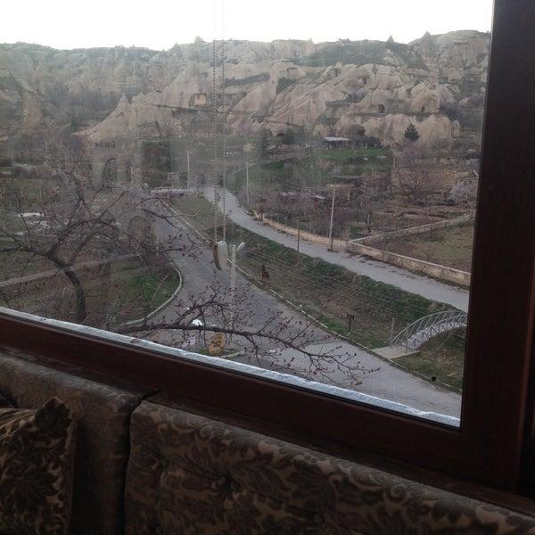 3/13/2015 tarihinde Ertan O.ziyaretçi tarafından Sos Cave Hotel'de çekilen fotoğraf