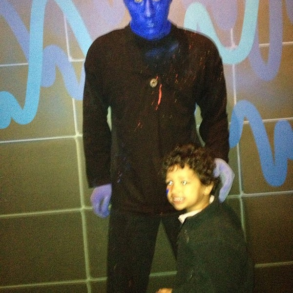 Photo taken at Blue Man Group at Universal CityWalk by Christopher S. on 3/7/2013