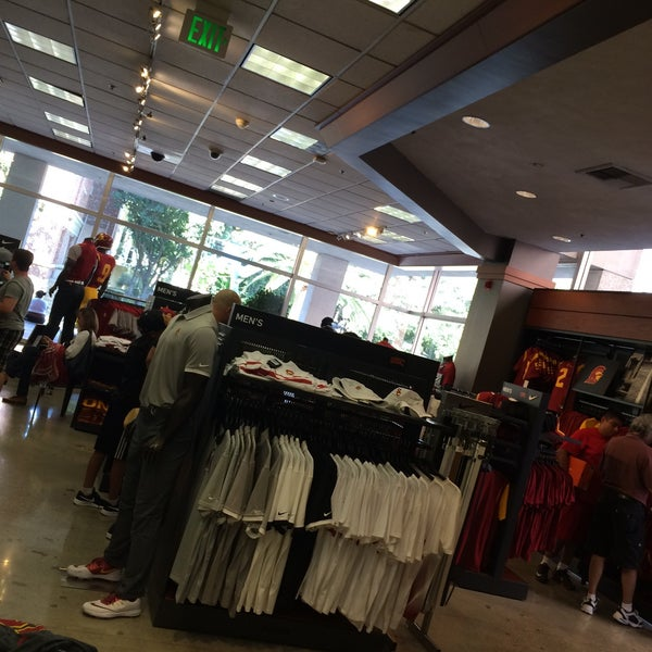 Photo taken at USC Bookstore (BKS) by Scott S. on 8/21/2016