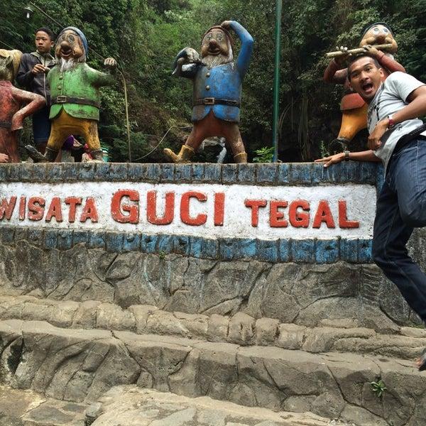 Photo taken at Taman Wisata Air Panas Guci by Immanuel V. on 10/17/2014