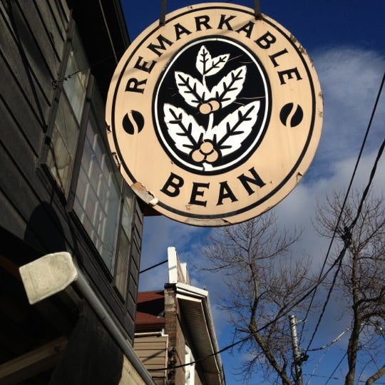 Photo taken at The Remarkable Bean by Peter B. on 11/24/2012