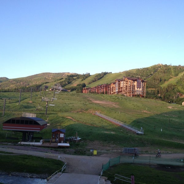 Photo taken at Steamboat Resort by Tim J. on 6/18/2013