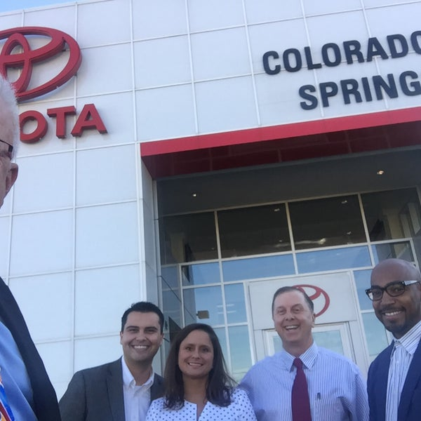 Photo Taken At Larry H. Miller Toyota Colorado Springs By Tim J. On 12