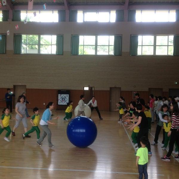 Photo taken at 성황초등학교 by Jihyun P. on 5/8/2013