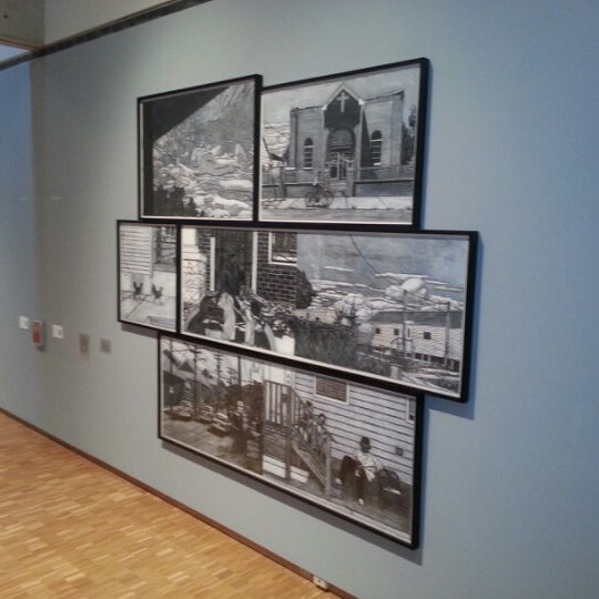 Photo taken at Haggerty Museum of Art by Nick D. on 11/29/2012