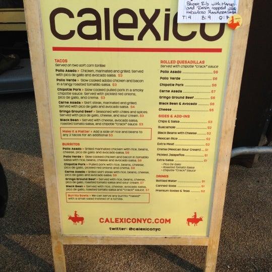 Photo taken at Calexico Cart by Ben 💯 B. on 12/13/2012