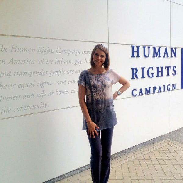 Photo taken at Human Rights Campaign by Bread & Chocolate on 8/1/2013