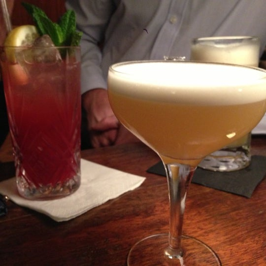 Photo taken at Hawksmoor Seven Dials by Jerry D. on 11/20/2012