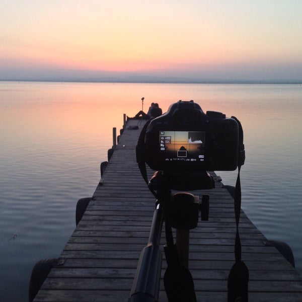Photo taken at La Albufera by Alkis E. on 10/30/2014