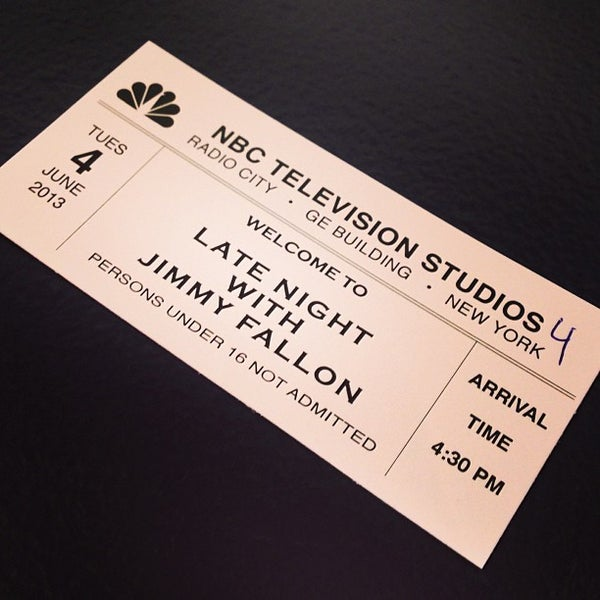 Photo taken at Late Night with Jimmy Fallon by Sarah C. on 6/4/2013